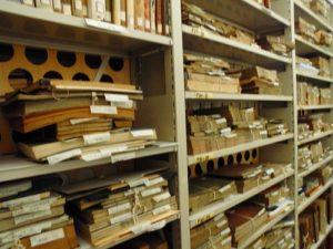 重山文庫の書庫
